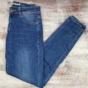 NEW J Brand Boyfriend Dark Wash Denim Jeans 2